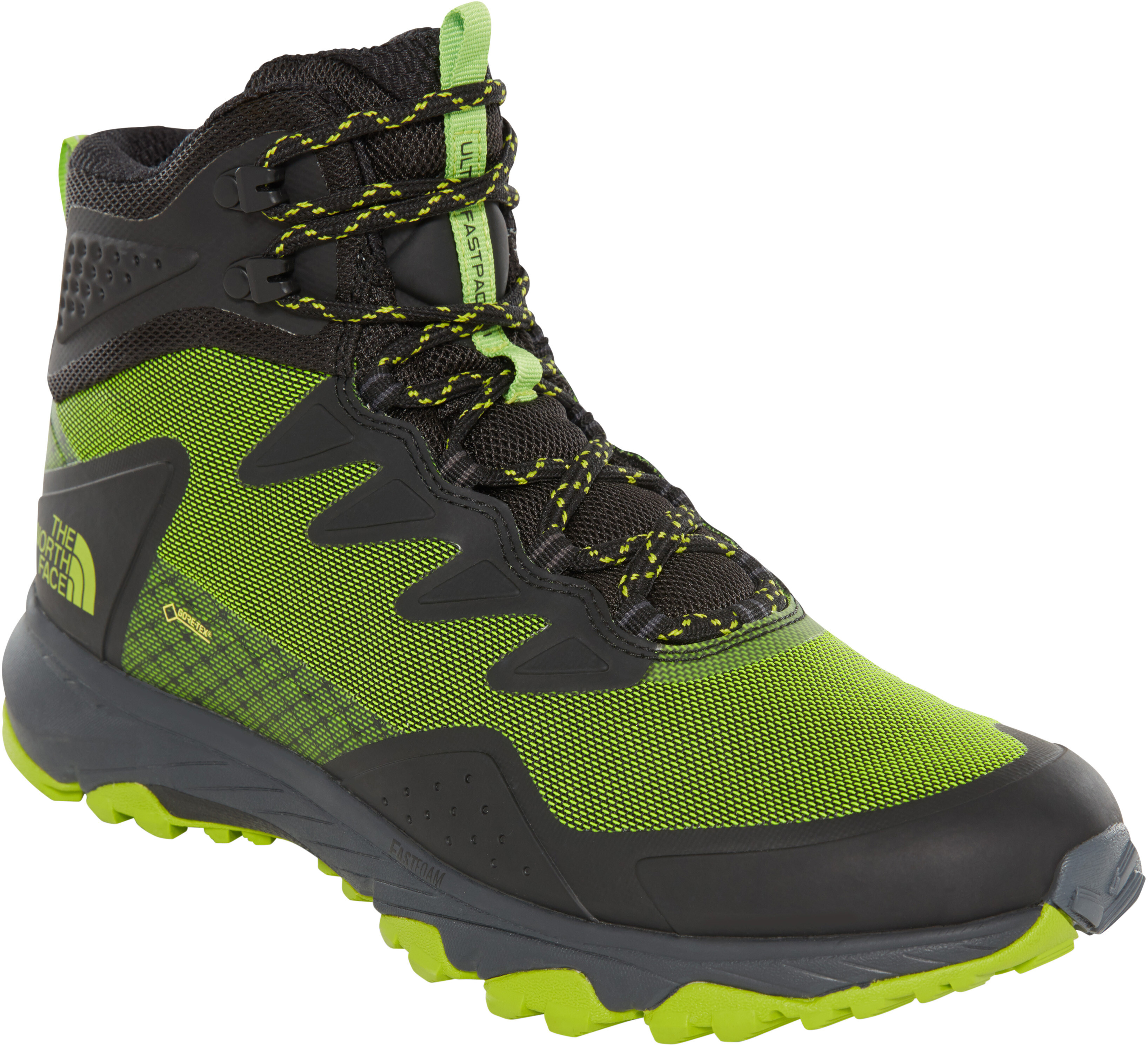 6f6a591c94 The North Face Ultra Fastpack III Mid GTX - Chaussures Homme - vert/noir